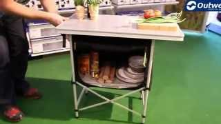 Outwell Regina Folding Kitchen Table - Campingworld.co.uk