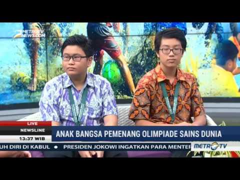 Mengenal Nathaniel & Raja, Putra Indonesia Pemenang Olimpide Sains Dunia | Newsline MetroTV Mp3