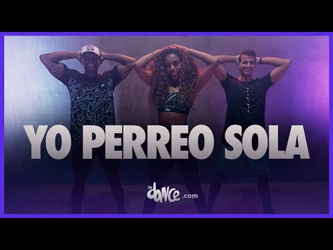 Yo Perreo Sola - Bad Bunny  FitDance Life  StayHome and Dance WithMe