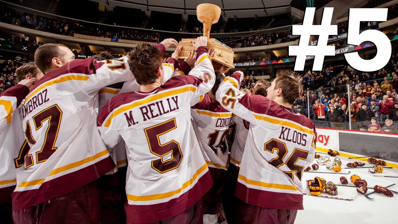 Gopher Hockey Top 10: #5 'U' Wins North Star College Cup ...