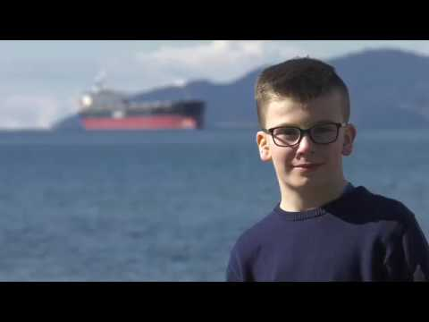Young environmentalist teams with London Drugs to promote plastic recycling