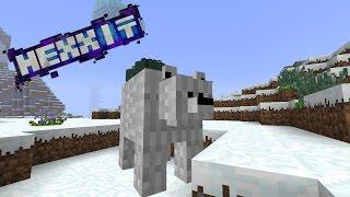 Minecraft: Hexxit Reborn | Blana de urs polar | Episodul 4