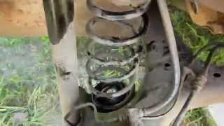 Замена прокладок пружин сзади. Бортжурнал Mitsubishi Colt