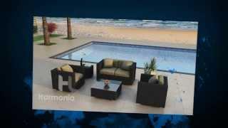4 Piece Urbana Modern Outdoor Sofa Set By Harmonia Living