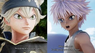 Jump Force - Asta All Unique Special Quotes / Easter Eggs! Interactions! (HD)