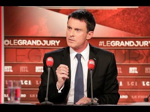 Le Grand Jury avec Manuel Valls le 2 octobre 2016 - partie 2 - RTL - RTL