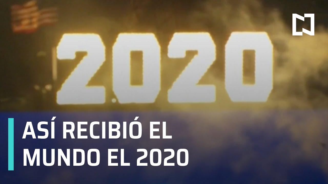 Así fue recibido el Año Nuevo 2020 en el mundo - Las Noticias con Claudio