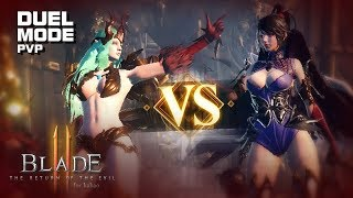 Blade II - Duel Mode (PVP) - CBT - Mobile - F2P - KR