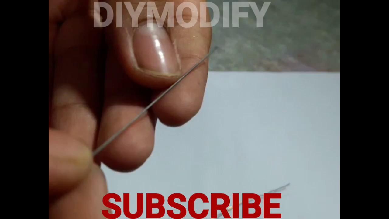 DIY HOT FOAM CUTTER FROM PENCIL LEAD - YouTube