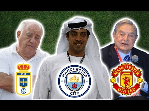 Top 10 Richest Football Club Owners In The World | 2017