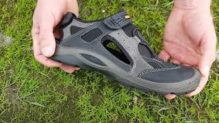 Обзор. Мужские сандалии ECCO DELTA