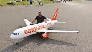 "Video GIANT RC 1/9 SCALE ""EASYJET"" AIRBUS A319 AIRLINER - ANDY LMA RAF ELVINGTON AIRSHOW - 2015 download MP3, 3GP, MP4, WEBM, AVI, FLV Januari 2018"