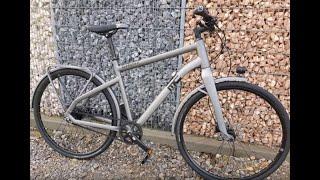Ghost Square Urban X7 8 AL Urban Bike 2018 grau Gates Carbondrive Shimano  Alfine