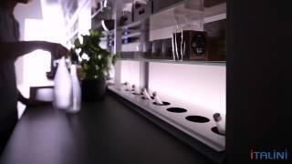 Мебель итальянской фабрики Valcucine. ITALINI - поставщик мебели из Италии