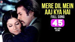 Mere Dil Mein Aaj Kya Hai - Full Song HD | Daag | Rajesh Khanna | Sharmila Tagore | Kishore Kumar