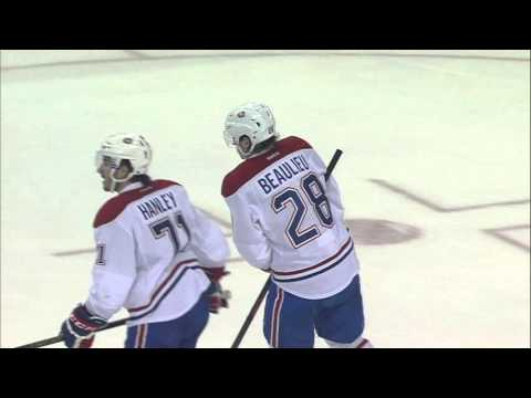 Beaulieu leaves game after blocking shot with hand