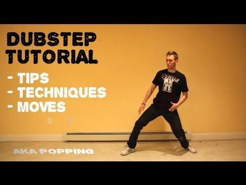 how to dance to dubstep tutorial robotic popping lesson