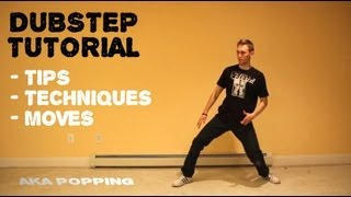 How To Dance to DUBSTEP Tutorial | Robotic POPPING Lesson(Learn popping & hip hop: http://TheRussianTiger.com Dubstep dance, is really just *POPPING*, you can learn it here ↑↑↑ Learn how to dance popping moves ..., 2012-01-20T03:21:07.000Z)