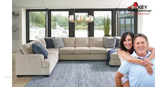 Ashley Enola 4 Piece Sectional With Chaise (APK-61500-4R) | KEY Home