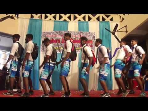 KUNJIYAMMA Funny Dance..B.A. Chanks 2016 Aluva