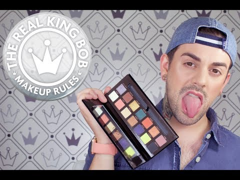 MAKEUP RULES: THE REAL KING BOB: ANASTASIA PRISM PALETTE