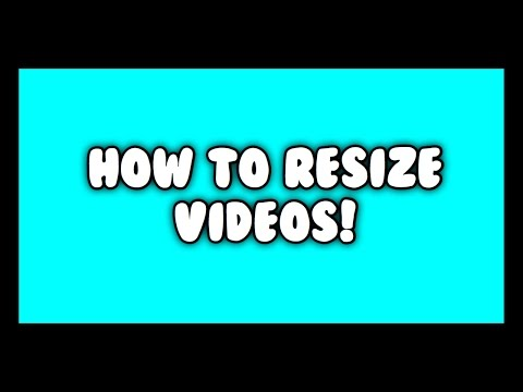 How to Resize Videos on Cute Cut Pro!