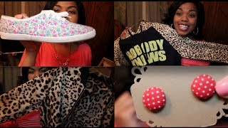 Haul #51: Pairables, Customized Keds, Glasses USA, Leopard Jackets, & More~