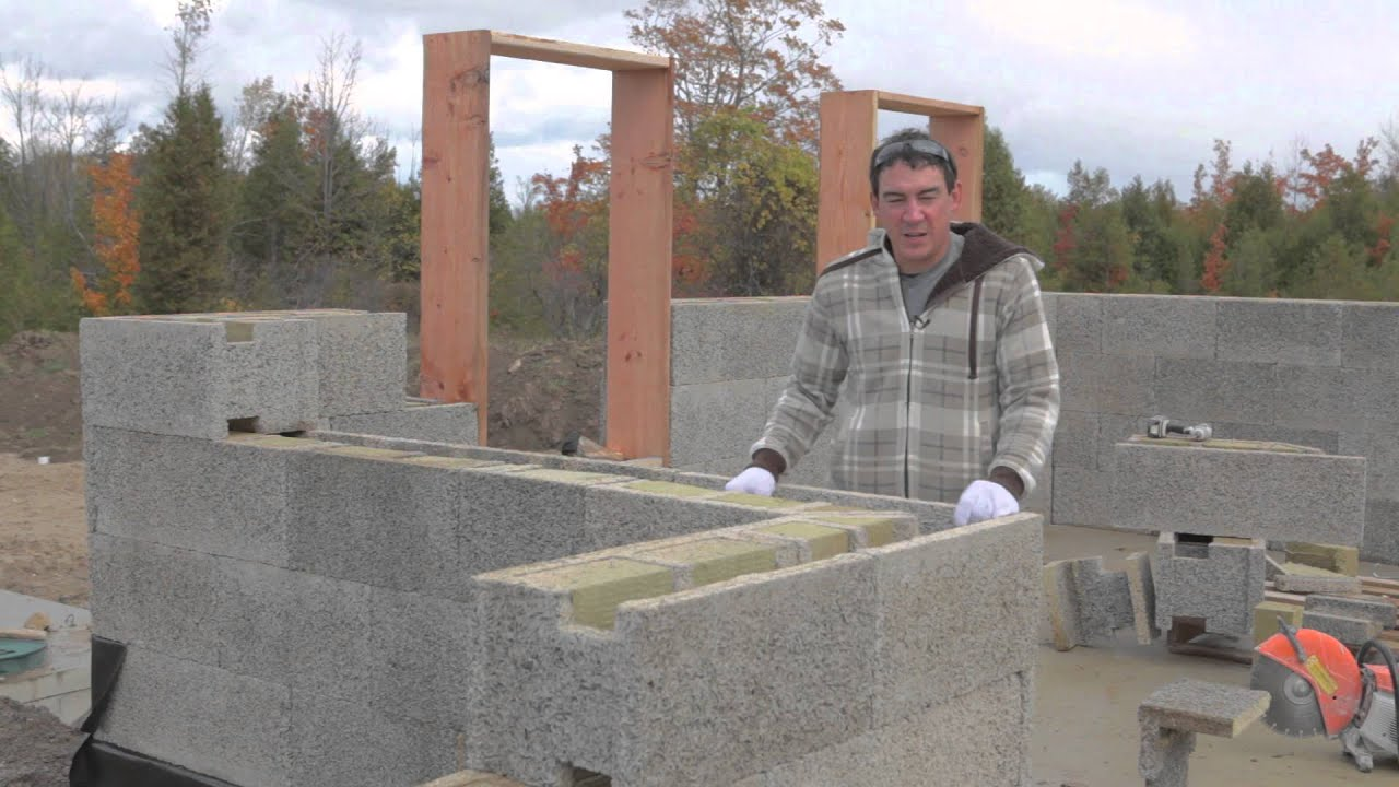 Durisol Insulated Concrete Forms Youtube