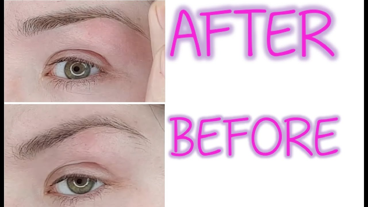 HOW TO SHAPE YOUR EYEBROWS AT HOME ♥ EASY FOR BEGINNERS ...