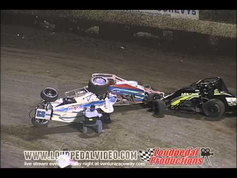 Ventura Raceway 3-3-12 :: VRA Sprint Cars