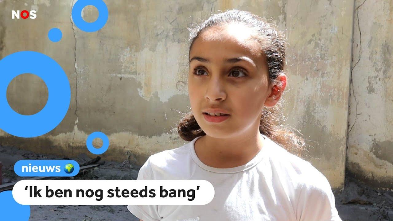 Download Talía's huis in Gaza werd verwoest door een bom