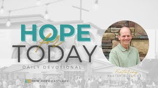 Hope for Today | A Surprise Gift for God | 9.28.20