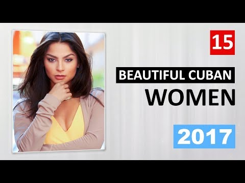 Cuban women: most beautiful girls from Cuba - Caribbean girls photos top 15