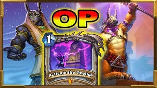 Hearthstone: Quest Priest Is OP | ACTIVATE THE OBELISK | Saviors Of Uldum New Decks