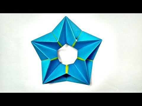 How to make 3D Paper Star for Christmas and Room Decoration || Modular Origami Star || Easy Crafts