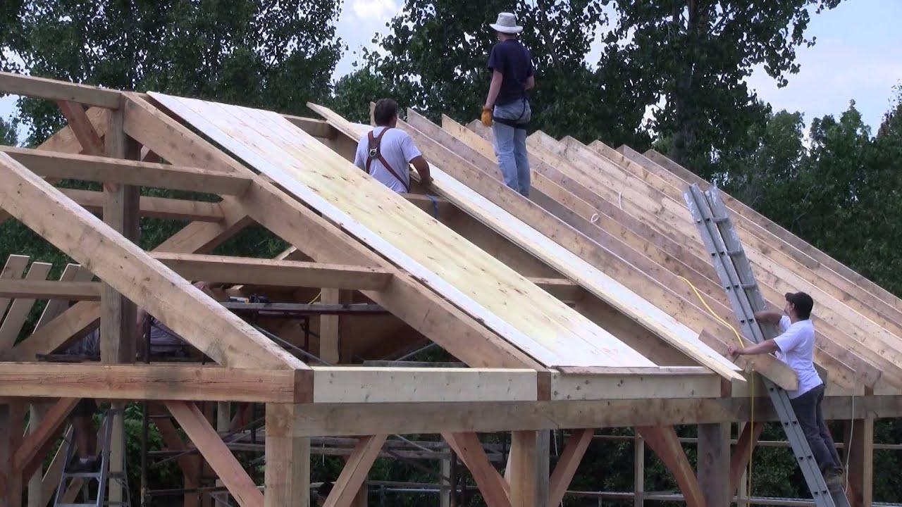 l 39 gosseux d 39 bois ep 59 la construction de mon nouvel atelier partie 7 le plafond youtube. Black Bedroom Furniture Sets. Home Design Ideas