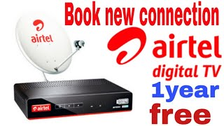 How to book airtel dth new condition aitel tv,how to activate airtel tv trai pack online