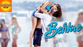 Ranveer singh kisses vaani kapoor in new 'befikre' poster! | bollywood asia