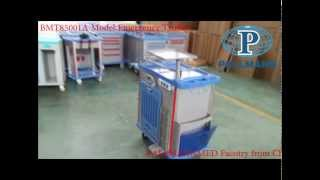 Wanrooemed Resuscitation Trolley,resuscitation Cart,procedure Trolley,procedure Cart