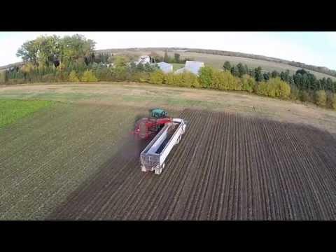 Sugar Beet Harvest in North Dakota