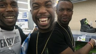 $75 Wal-Mart Shopping Fit Challenge! With Friend! Harder Than You Think!