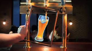 Blue Moon Beer commercial 2011 painting 相楽のり子 動画 9