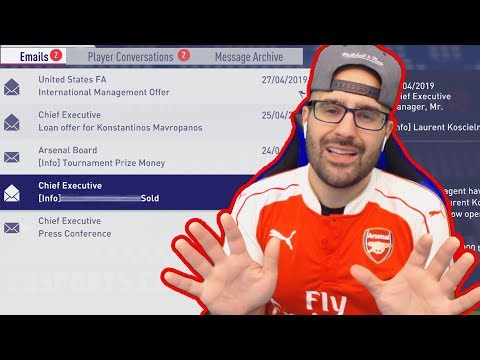 IM SORRY BUT I SOLD HIM! FIFA 18 Career Mode ARSENAL #18