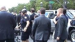 Sarah Palin Secret Service Detail at work