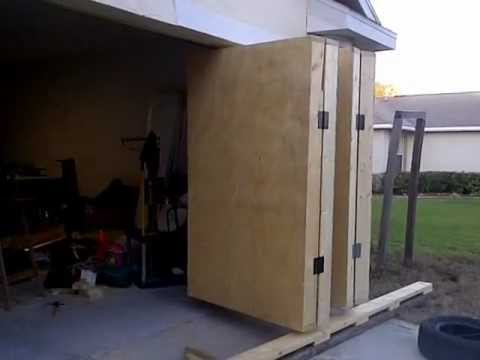 Garage Accordian Door Youtube