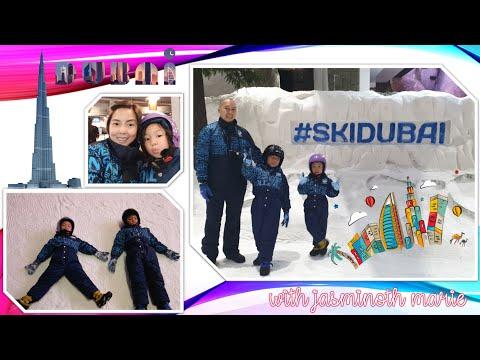 SKI DUBAI EXPERIENCE / SKI RESORT IN DESERT/ SNOW IN DUBAI / SKI DUBAI ADVENTURE /SKI DUBAI RAMADAN