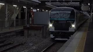 E257系2000番台NA-10編成。機能保全を終え、再び長野へ