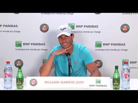 Rafael Nadal Press conference / QF RG 2019