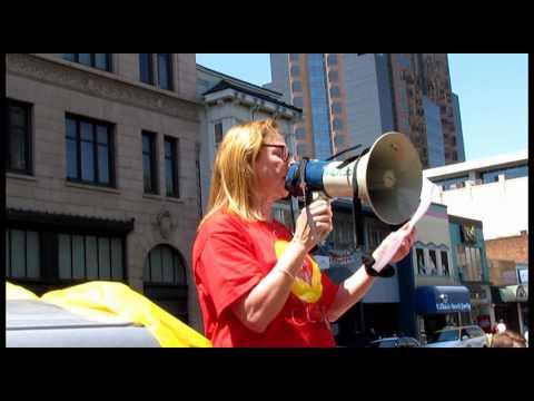 ACCJC Protest in Sacramento, June 6, 2014