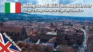 Top Things to do in Bologna & Emilia Romagna, Italy (Travel Guide Bologna, Ferrari, Modena, Rimini)